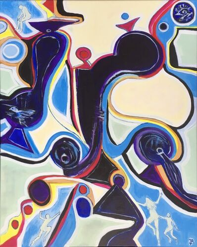 """Jette Bruun, '""""Shapes Taking Over""""', 2018"""
