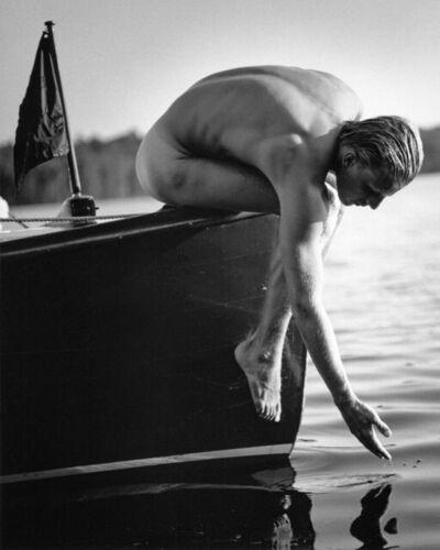 Bruce Weber, 'Tyke, Upper St. Regis Lake, NY (#2)', 1988