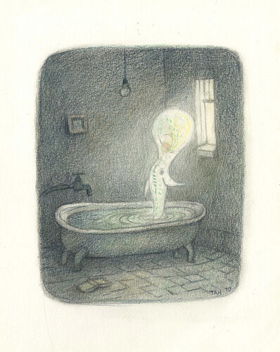 Shaun Tan, 'The Thing in the Bathroom', 2010