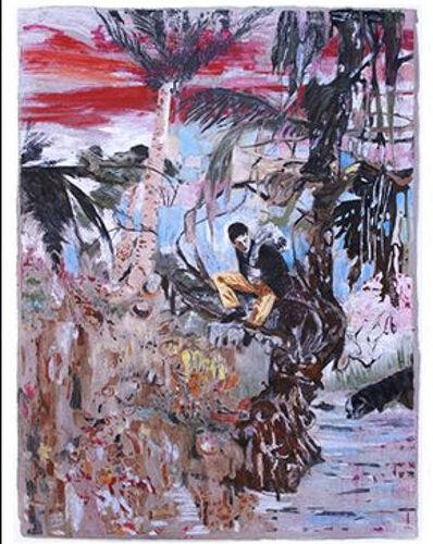 Hernan Bas, 'Downhill at Dusk (The Runaway)', 2013
