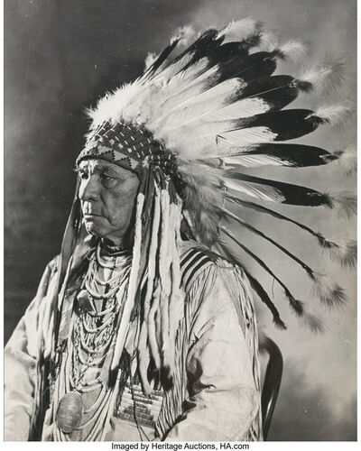 Unknown American, 'Indian Chief', 20th Century