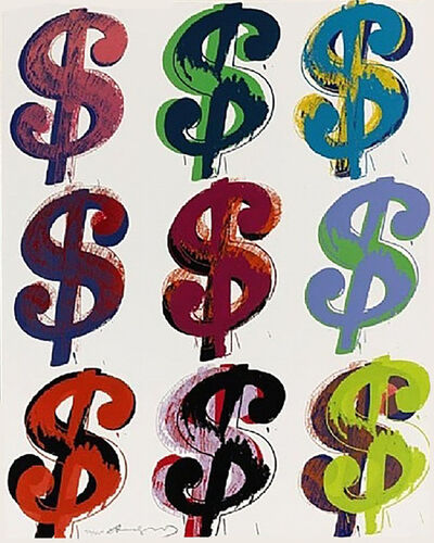 Andy Warhol: Dollar Sign - For Sale on Artsy