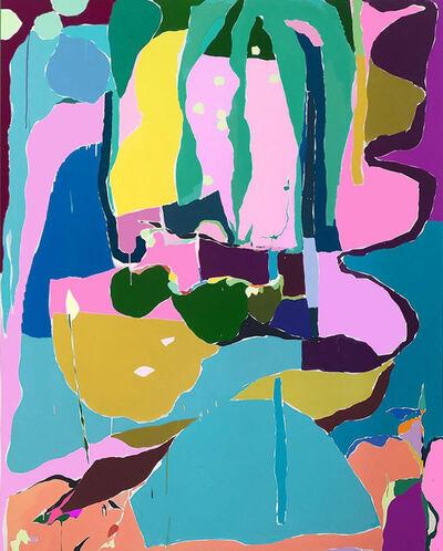 Idir Davaine, 'Sans-titre: Palme, Lianes, Racines', 2020