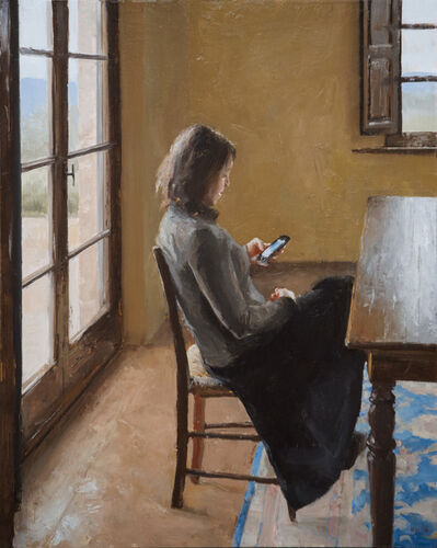 Kenny Harris, 'Woman Reading  a Letter', 2016