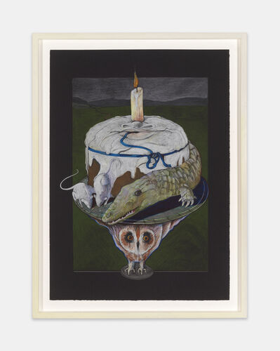 Ellen Lanyon, 'Birthday Cake', ca. 1975