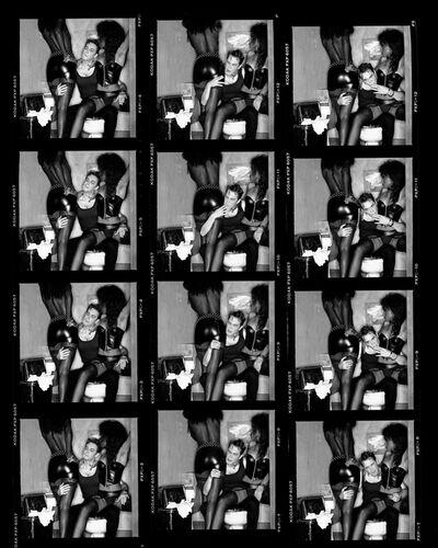 Greg Gorman, 'Jeff Koons Contact Sheet', 1988