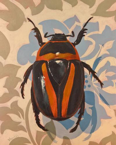 Kevin Morris, 'Beetle on Damasc', 2018