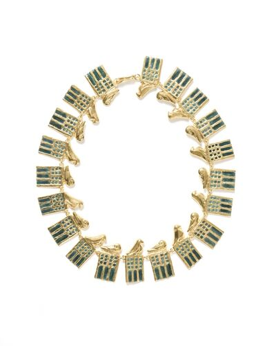 "Line Vautrin, '""Ramsès"" necklace', ca. 1960"