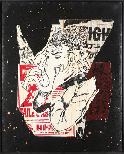 FAILE, 'Founded 1999). Ganesha', 2007