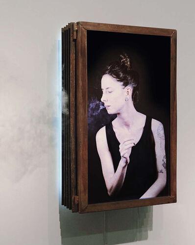 MARCK, 'Artstudent (philosophize) klein', 2015
