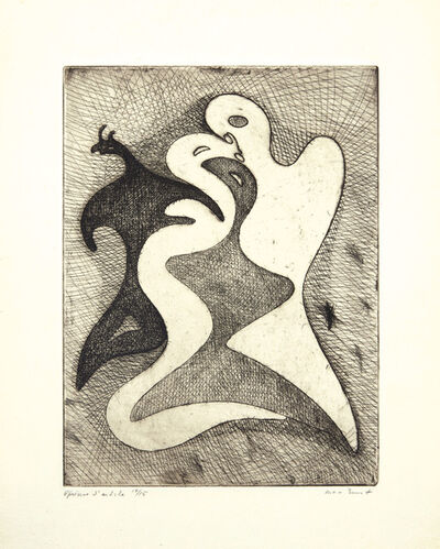 Max Ernst, 'Correspondances dangereuses, from Brunidor Portfolio, No.1', 1947