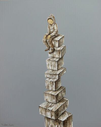 Li Jikai 李继开, 'Boy on the high platform', 2014