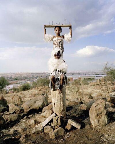 Namsa Leuba, 'Strength, from the series Zulu Kids ', 2014