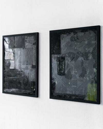 Jason Gringler, 'Two works (black)', 2016