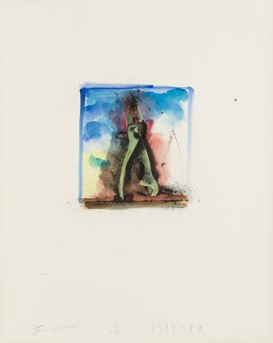 Jim Dine, 'From 'Ten Hand-Colored Winter Tools II' (Carpenter 32.6)', 1973-89
