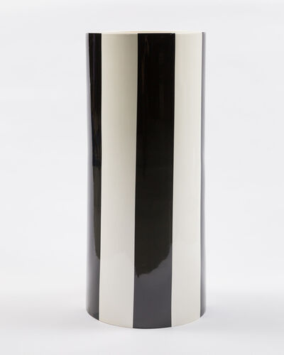Daniel Buren, 'Les Cent Vases (The Hundred Vases). Tall black cylindrical vase.', 2010