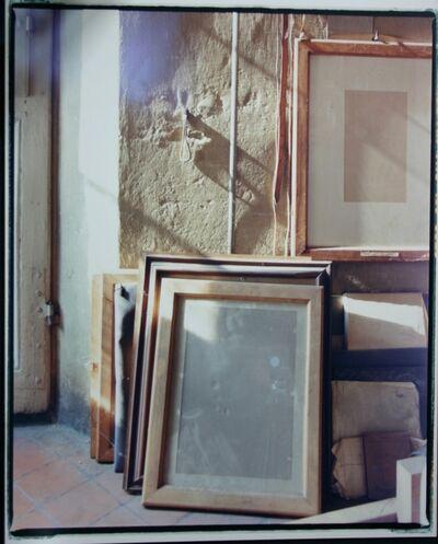 Luigi Ghirri, 'Bologna, Via Fondazza, Studio Giorgio Morandi', 1989-1990