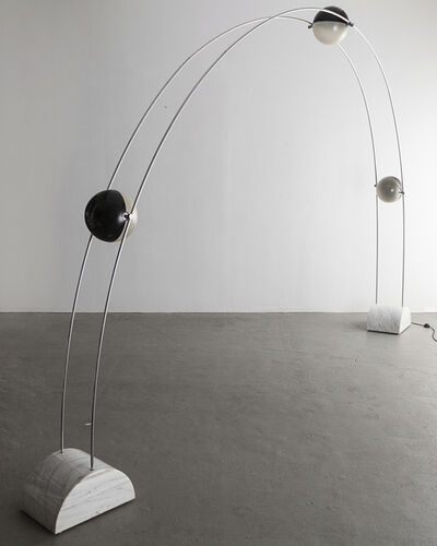 "Studio A.R.D.I.T.I., '""Ponte"" floor lamp with fixtures', 1971"