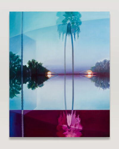 Patti Oleon, 'Double Palm', 2019
