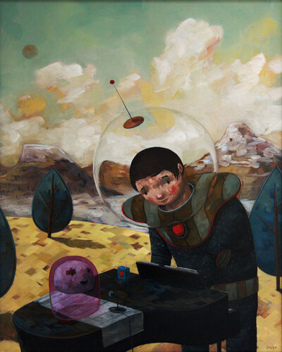 Nathan Durfee, 'Lounging on a Distant Planet'