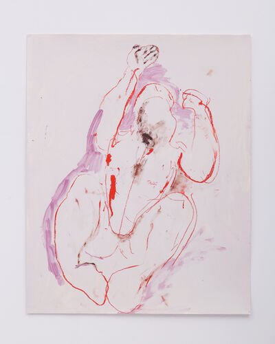 Florence Peake, 'Touch Outline 2', 2016