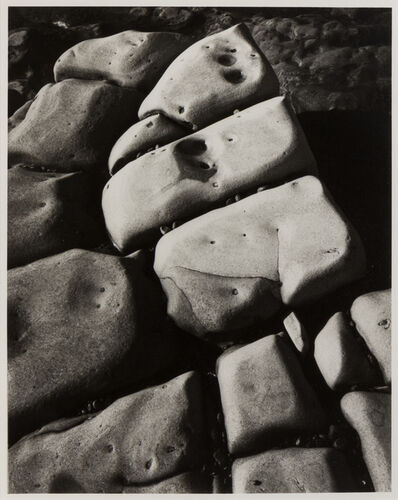 Ansel Adams, 'Rock detail, Point Lobos California', 1971