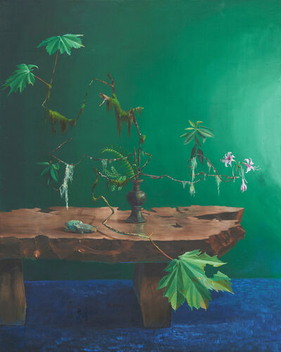 Chris Russell (American, BORN 1983), 'Green Screen', 2019