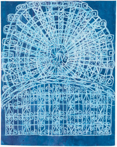 Camille Holvoet, 'Seattle Ferris Wheel With Iron Gates', 2016