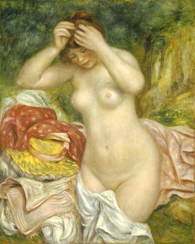 Pierre-Auguste Renoir, 'Bather Arranging Her Hair', 1893