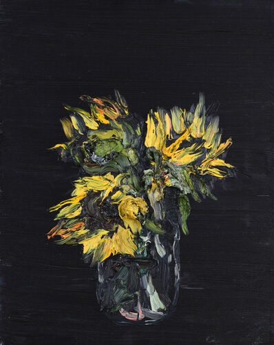 Allison Schulnik, 'Sunflowers ', 2008
