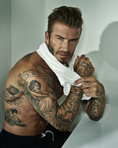 Marc Hom, 'Sir David Beckham, Los Angeles', 2015