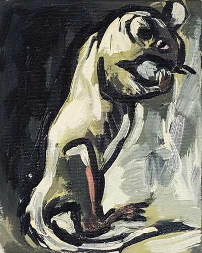 Luis Frangella, 'A Buenos Aires (Rat)', 1986