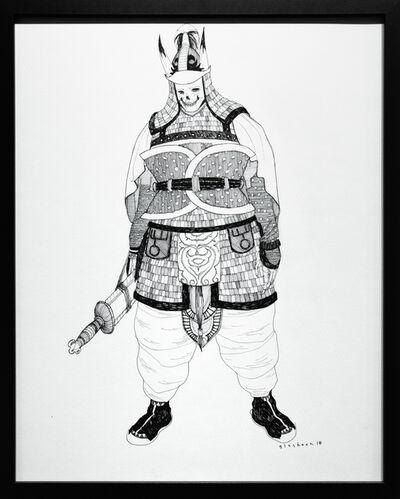 Kate Glasheen, 'Dead King 13 [5th Century Korean Lord]', 2018