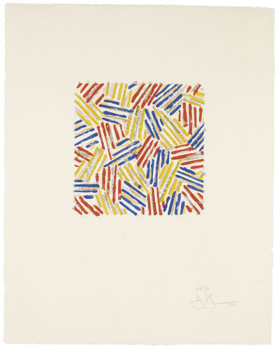 Jasper Johns, 'Untitled', 1977