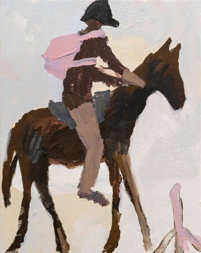 Mie Olise Kjærgaard, 'Man on Horse', 2019
