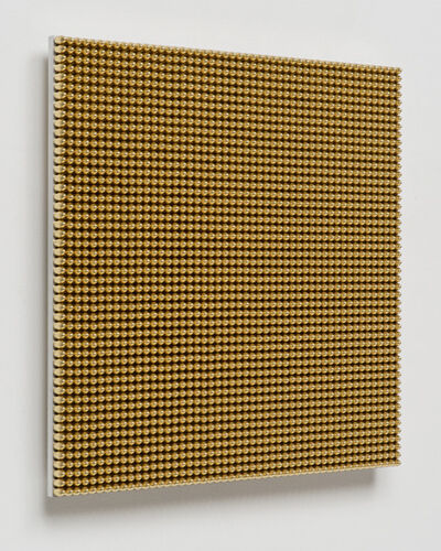 Aaron Sandnes, '13.36 Seconds (9mm Gold Round Nose)', 2015