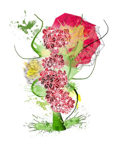 Marjan Moghaddam, 'Virtual Floral Study', 2014