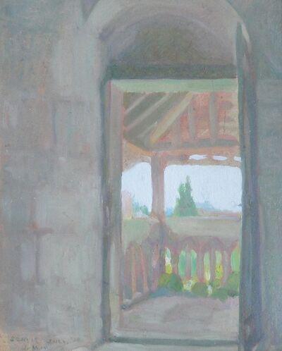 Jane Jarvis Mumford, 'View at Senlis', 1917