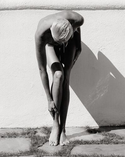 Herb Ritts, 'Brigitte Nielson (Standing), Malibu', 1987