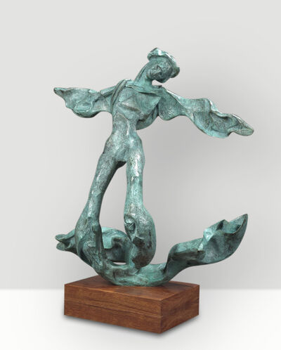 Salvador Dalí, 'Winged Triton: God of the Sea (prestige-scale)', 1973