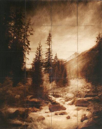 John Folsom, 'Plain of Six Glaciers', 2008