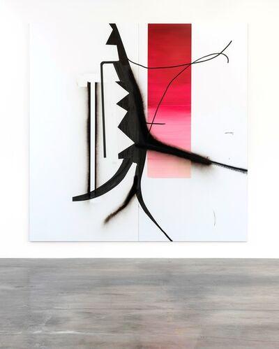 Albert Oehlen, 'Untitled (Tree 70)', 2016