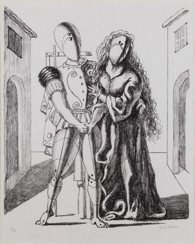 Giorgio de Chirico, 'Ettore e Andromaca', 1969