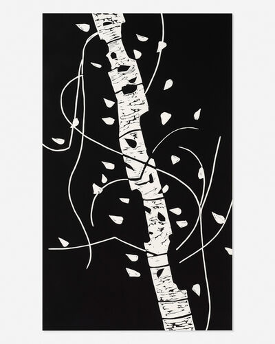 Alex Katz, 'Large Birch', 2005