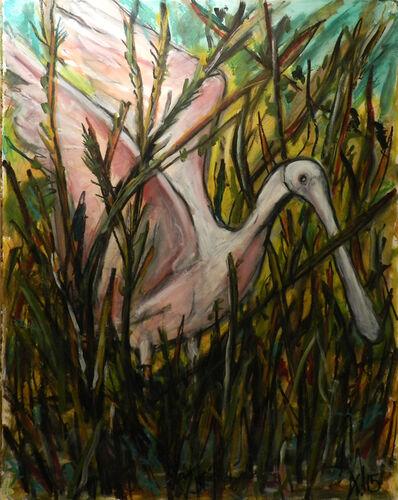 Frank X. Tolbert, 'Roseate Spoonbill', 2015