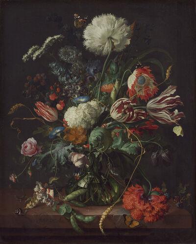 Jan Davidsz. de Heem, 'Vase of Flowers', ca. 1660