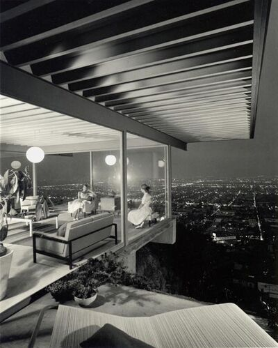 Julius Shulman, 'Case Study House #22 (Two Girls), Los Angeles, CA', 1960