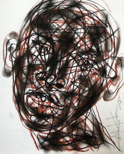 Salifou Lindou, 'Untitled (Sketchbook P.9)', 2017