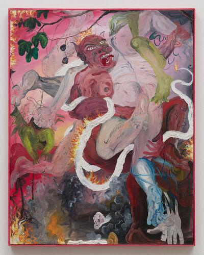 Morgan Mandalay, 'Jacob Wrestling his Inner Demons', 2019