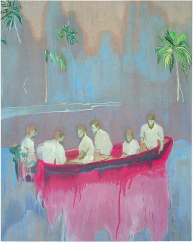 Peter Doig, 'Figures in red Boat ', 2005-2007